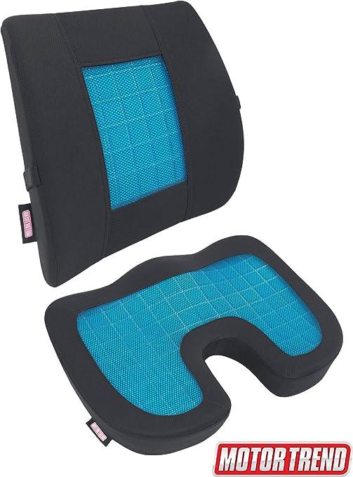 Orthopedic Seat Cushion Memory Foam Cooling Gel Office Car Chair Pillow