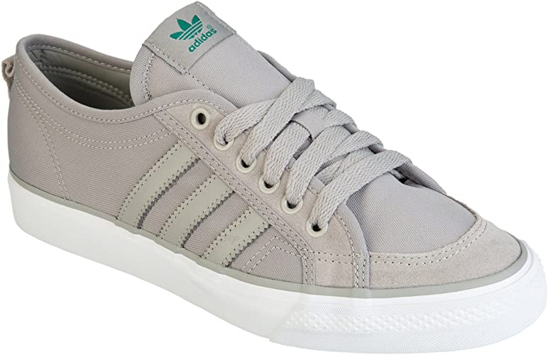 gráfico Clásico Muscular  adidas Mens Originals Mens Nizza Lo Trainers in Grey - UK 6.5:  Amazon.co.uk: Shoes & Bags