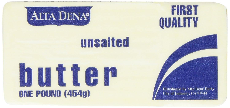 Alta Dena Unsalted Butter 16 Oz Amazon Com Grocery Gourmet Food