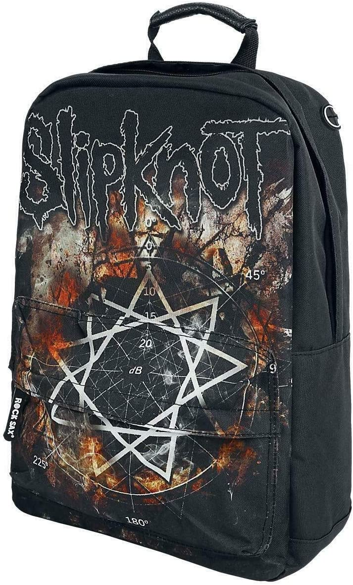 Rock Sax Slipknot Pentagram Backpack