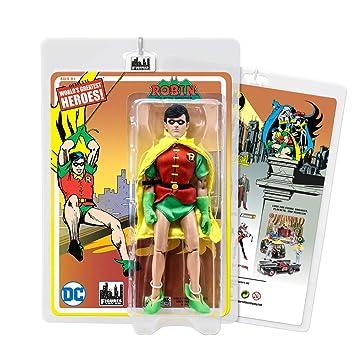Zabawki Batman Retro 8 Inch Action Figures Series 6 Robin Figurki akcji i z filmów