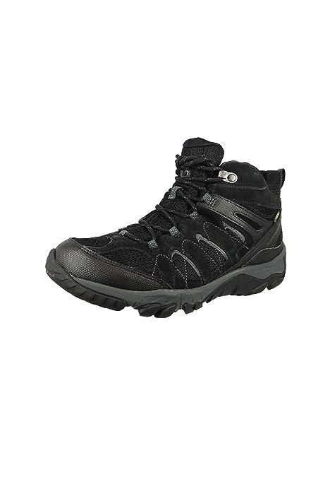 7dcd6c9a7a5 Merrell Mens Shoe Outmost Mid Vent GTX Black: Amazon.es: Zapatos y  complementos
