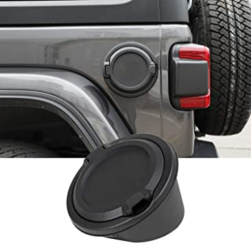 JeCar Gas Tank Cover Aluminum Alloy Fuel Filler Door Cover for Jeep Wrangler 2018-2020 JL /& Unlimited US Flag
