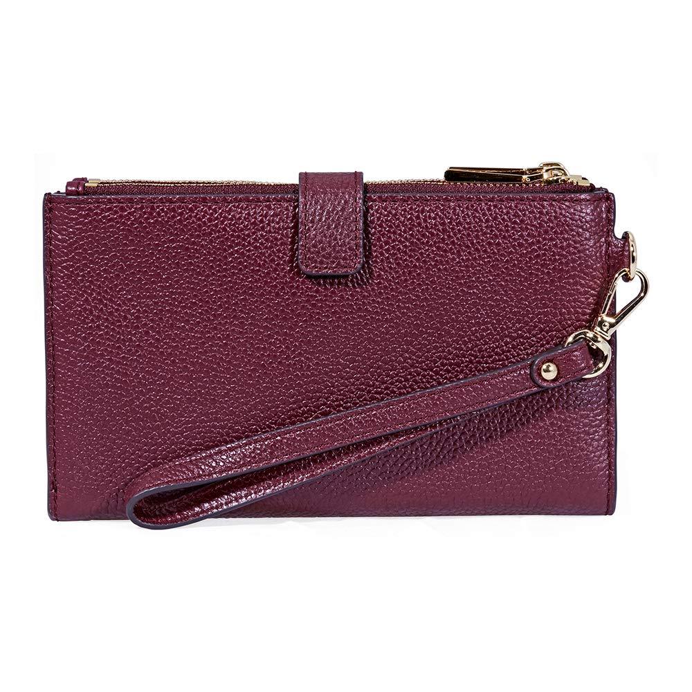 2c0c41d0d4b5 Michael Kors Adele Smartphone Wristlet - Oxblood  Handbags  Amazon.com