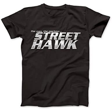 9a913df4abd Inspired by Street Hawk T-Shirt  Amazon.co.uk  Clothing
