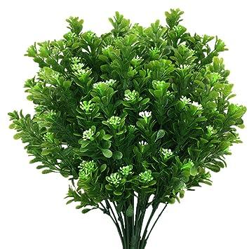 Foliage Flower Plastic Grass Fake Leaf  Artificial Plants Simulation Leaves