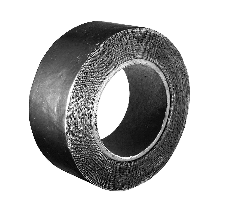 Klimapartner KSBA - Butyl Tape 50 mm x 10 m x 0.08 mm - Indoor Waterproof Stretchable Sealing Tape | Airtight Ducts