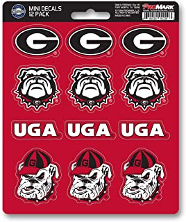 product image for FANMATS ProMark NCAA Georgia Bulldogs Decal Set Mini (12 Pack), Team Color, One Size
