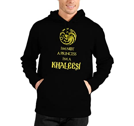 Sudadera con capucha I m Not A Princess I m a Khaleesi – Game Of