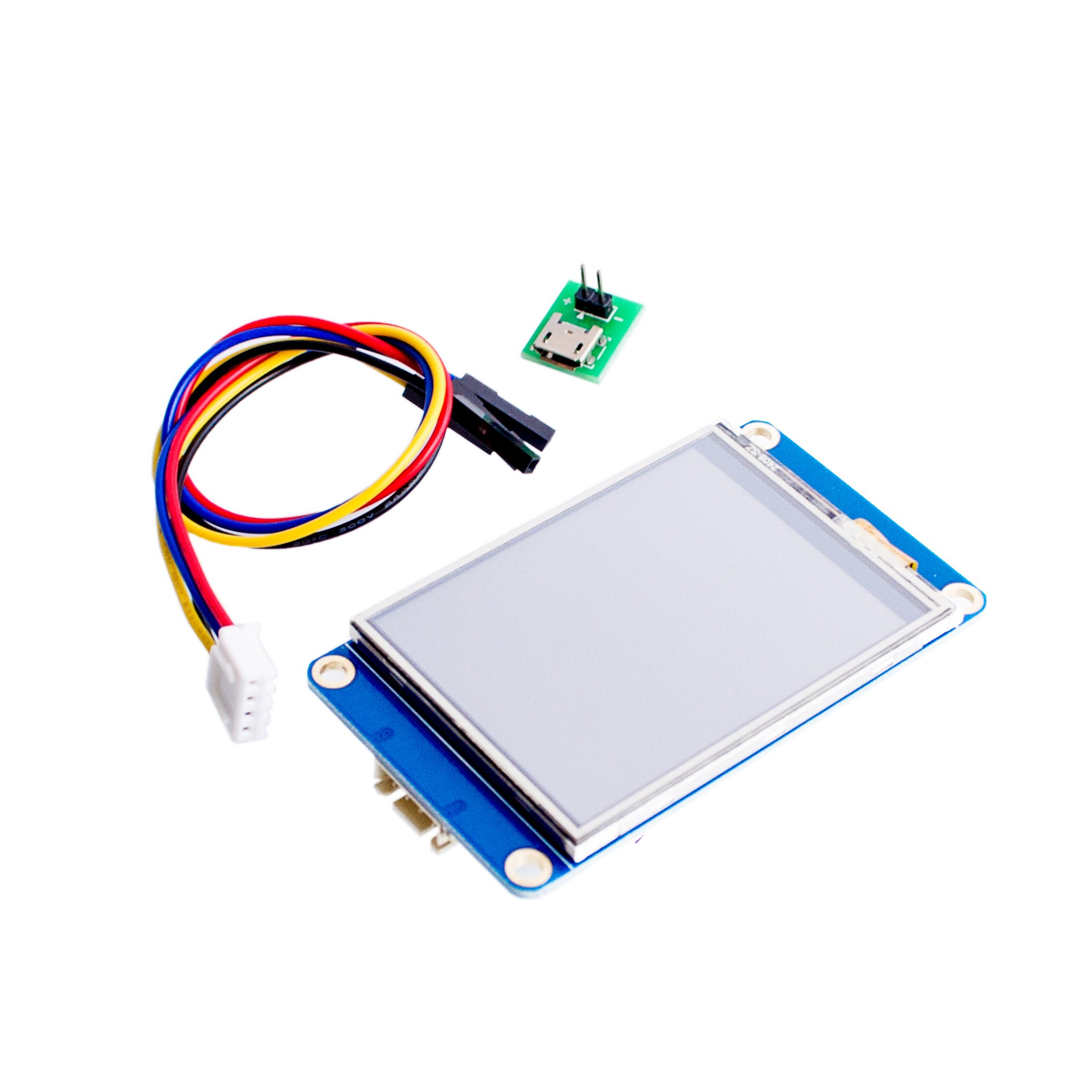 AEEDAIRY 2.8'' Nextion HMI Intelligent Smart USART UART Serial Touch TFT LCD Module Display Panel For Raspberry Pi 2 A+ B+ Kits