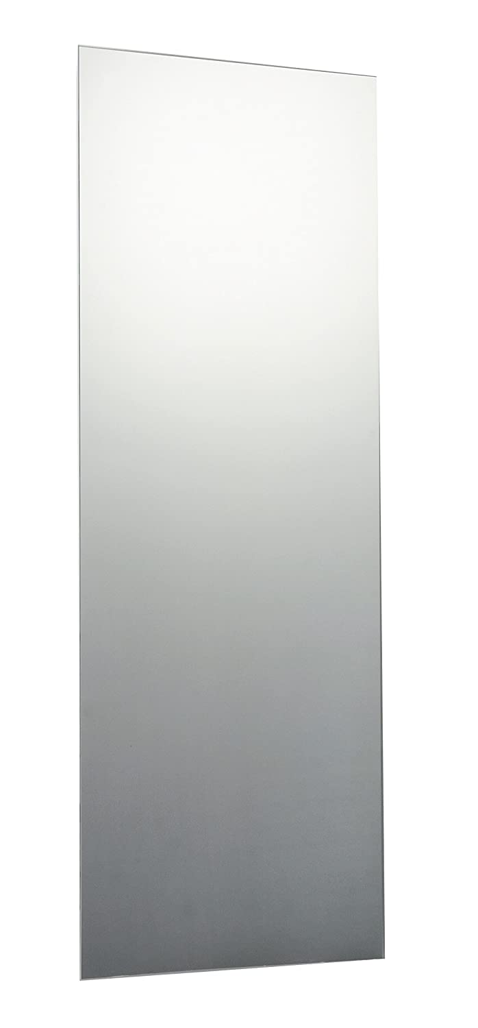 120 x 60cm Rectangle Bathroom Mirror, Unframed, Frameless Bathroom Mirror with Wall Hanging Fixing Hardware
