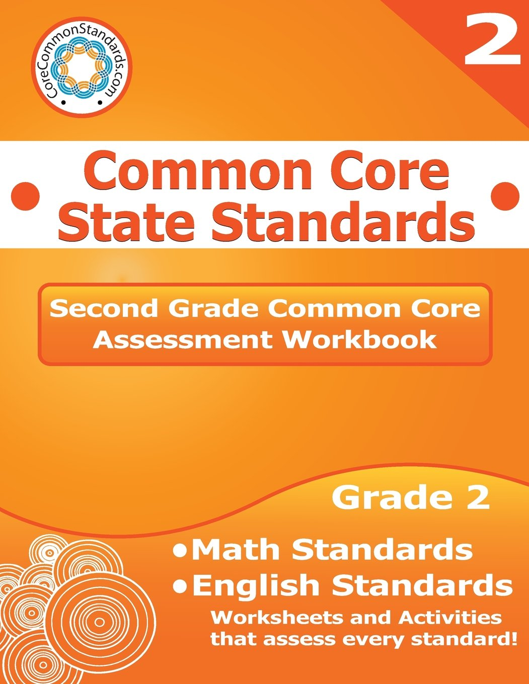 Workbooks kindergarten common core workbook : Second Grade Common Core Assessment Workbook: Common Core State ...