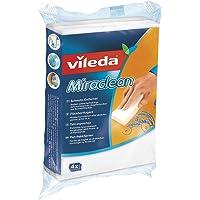 Vileda Miraclean Schmutzradierer - optimal zum Lösen von Schmutz auf harten Oberflächen, 2er Pack (2x4 Stk.)