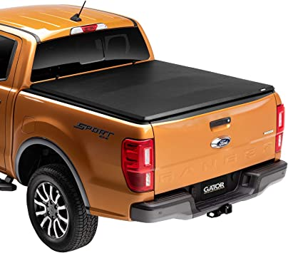 Amazon Com Gator Etx Soft Tri Fold Truck Bed Tonneau Cover 59501 Fits 2005 2020 Nissan Frontier 5 Bed Made In The Usa Automotive