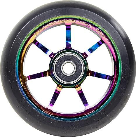 Responsable de ética DTC Incube Rainbow Stunt-Scooter Wheel ...