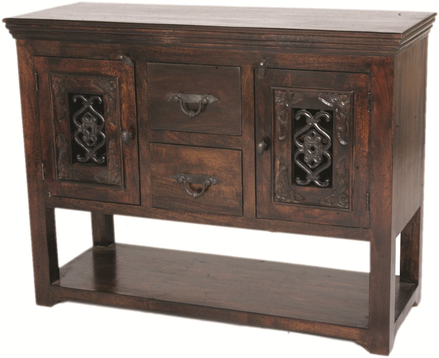 Moti Furniture Old World Design Durango Server
