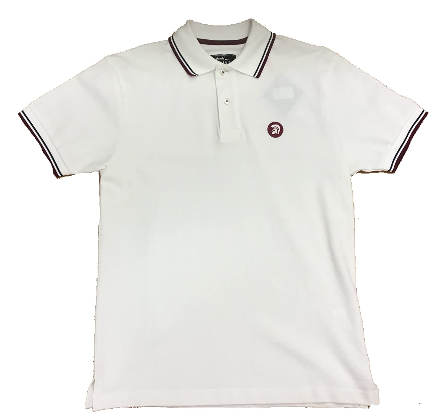 Trojan Records - Polo - para hombre blanco crudo M: Amazon.es ...