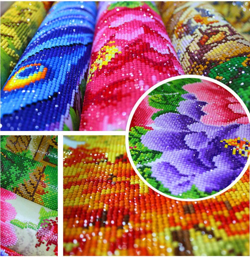 shangjunol 7pcs Serie Verdi//Set 50x50cm Tessuto Bundles Stampata Fiore del Tessuto di Cotone Tessuto Patchwork Cucito