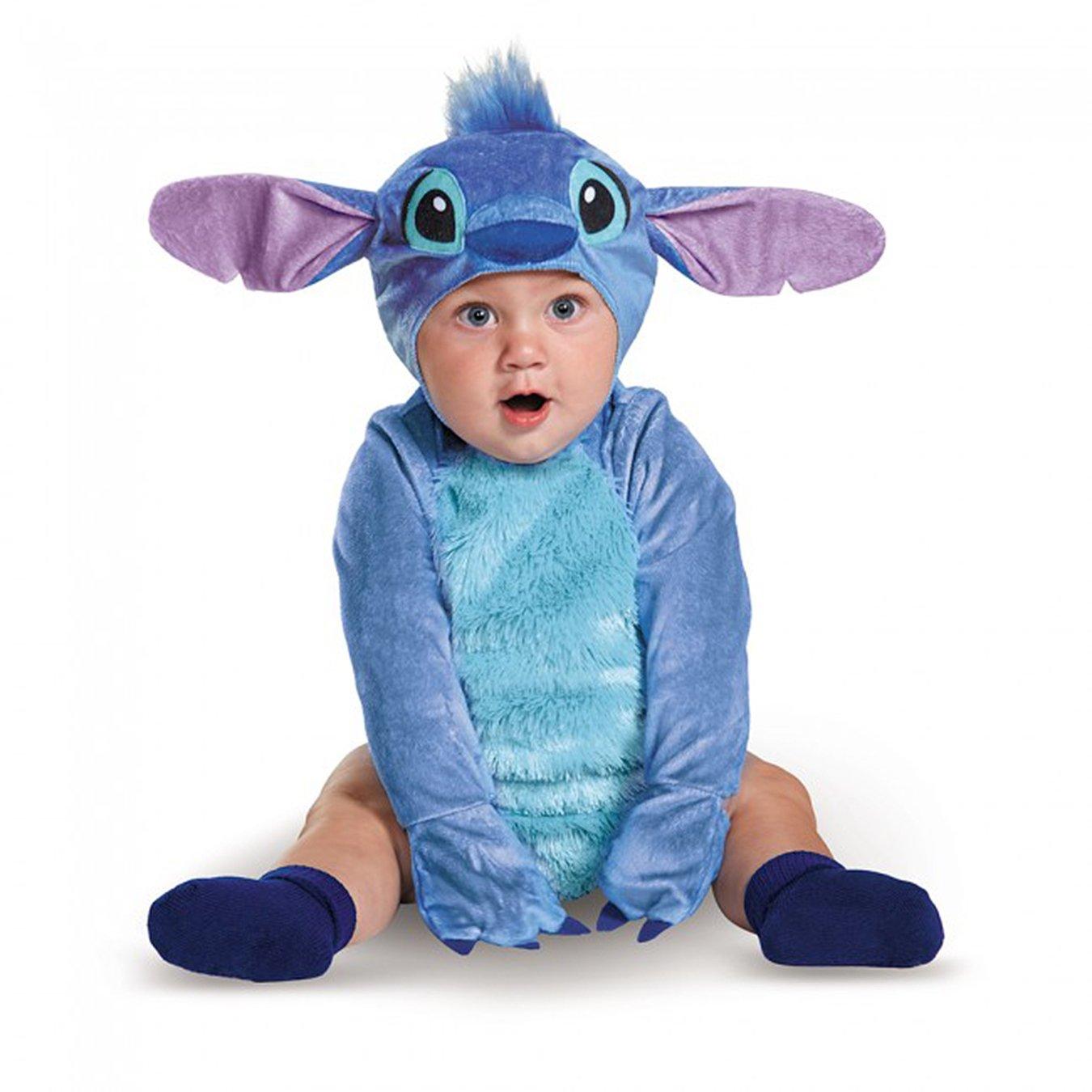 Amazon.com: Disney Baby Stitch Infant Costume: Clothing