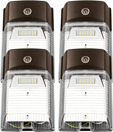26W 3000LM LED Wall Pack Light,PHOTOCELL INCLUDED,120-277Vac 5000K Daylight DLC
