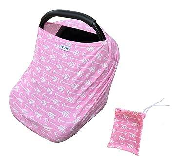 Premium 6 In 1 Car Seat Cover Baby CanopyNursing Nursing