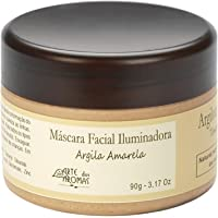 Máscara Argila Amarela Natural Vegano Arte dos Aromas 90g
