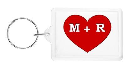 I Heart M R Love Key Ring
