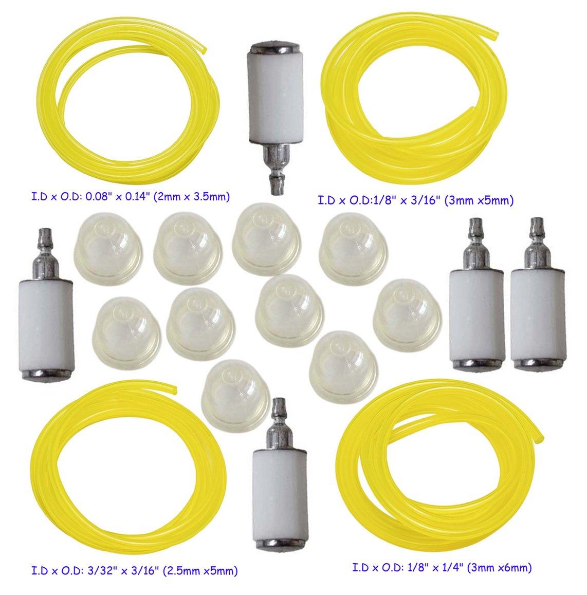 HIFROM 0057003 imprimación bombilla con 4 tamaños de ...