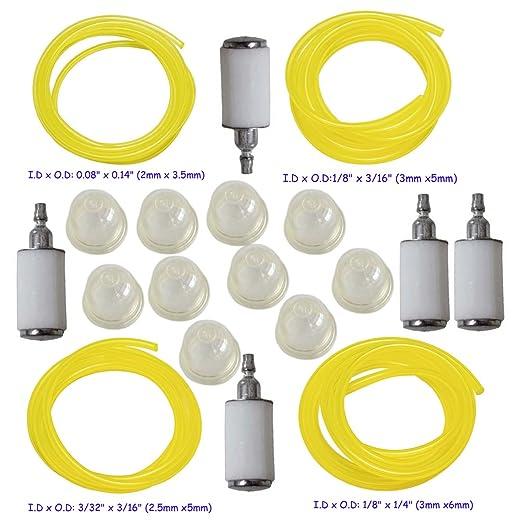 HIFROM 0057003 imprimación bombilla con 4 tamaños de manguera de ...