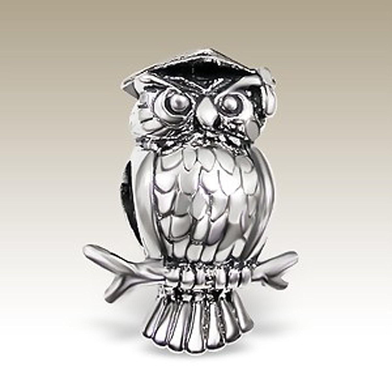 pandora charm owl graduation