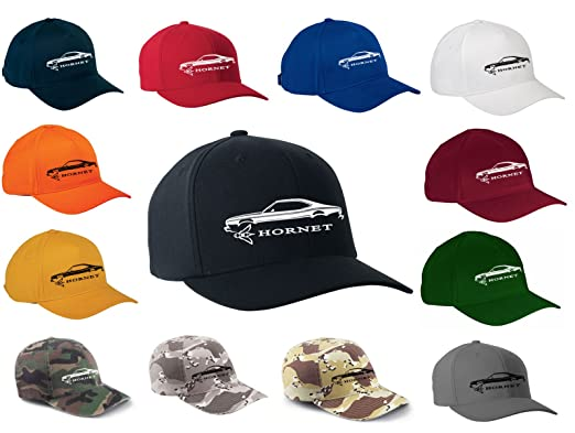 amazon com amc hornet classic outline design flexfit hat cap clothing