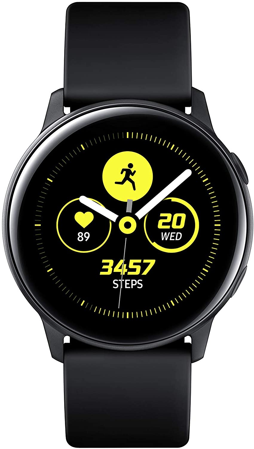 Samsung Galaxy Watch Active (40mm, GPS, Bluetooth, Wifi), Black - US Version with Warranty