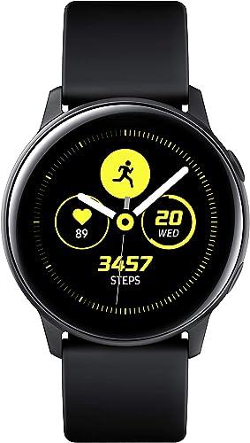 Samsung Galaxy Watch Active 40mm, GPS, Bluetooth , Black – US Version with Warranty