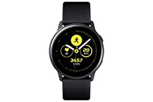 Samsung Galaxy Watch Active (40mm), Black- US Version with Warranty