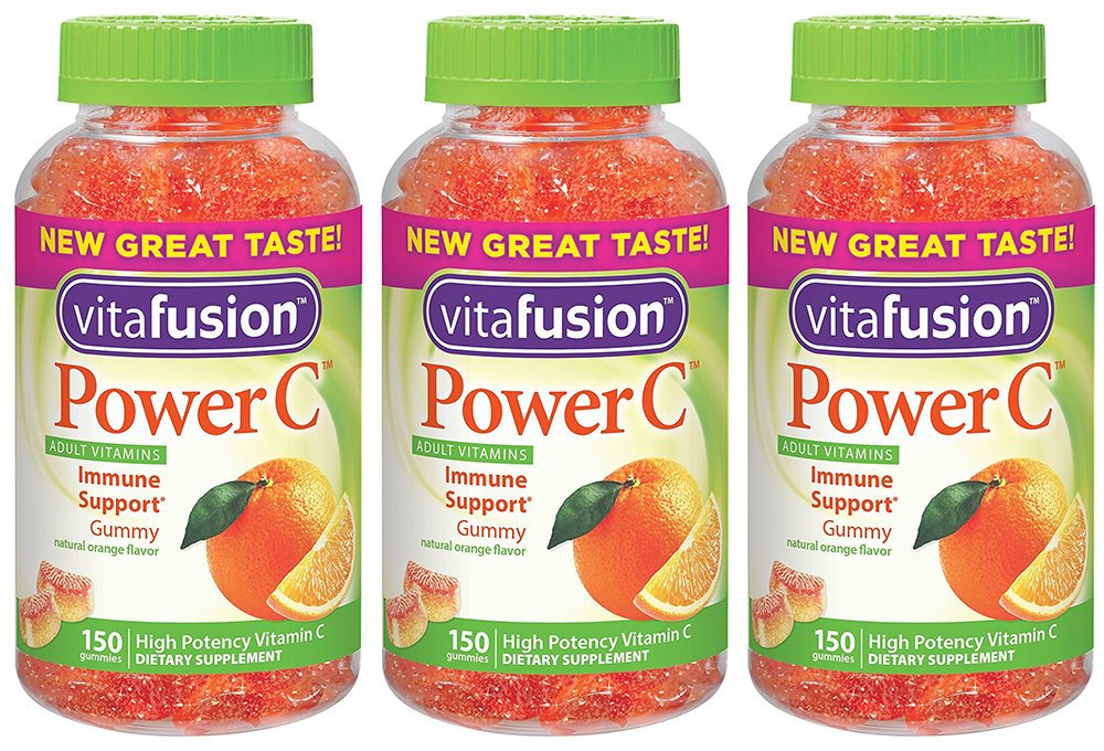 VF Power C Gummy for Adults, 3 Pack (150-Count)