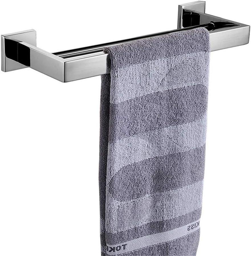 Flybath Barre porte-serviettes /à unique couche courte 60 cm /étag/ère fix/ée au mur acier inoxydable SUS 304 miroir poli porte-serviette de salle de bains