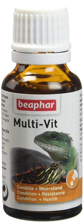 Beaphar - Multi-Vit, vitamines - reptiles - 20 ml 11657 vitamines reptile vitamines pour tortue