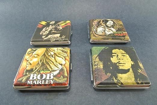 Amazon.com: Bob Marley Caso de cigarrillos, varios diseños ...