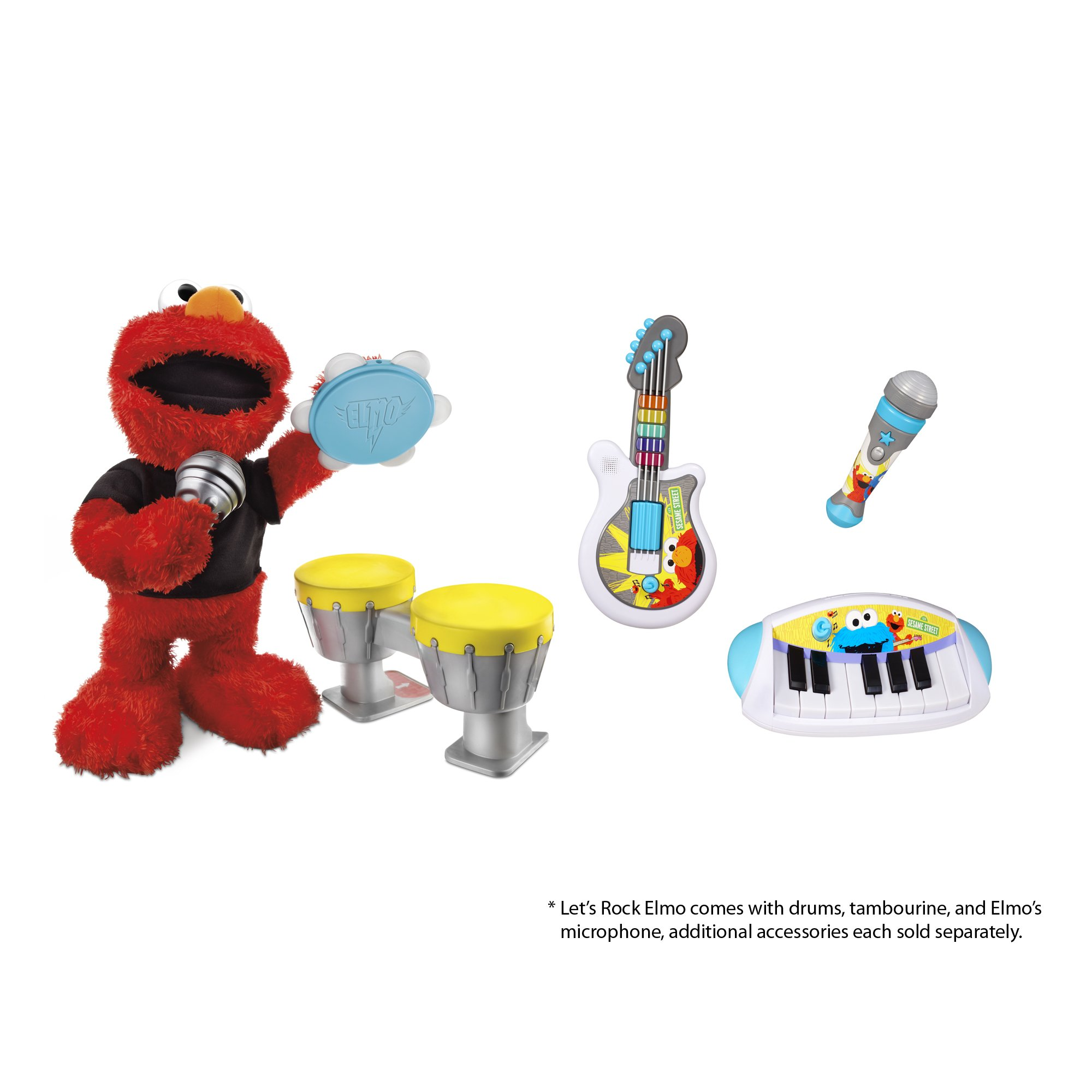Sesame Street Let's Rock Elmo by Sesame Street (Image #8)