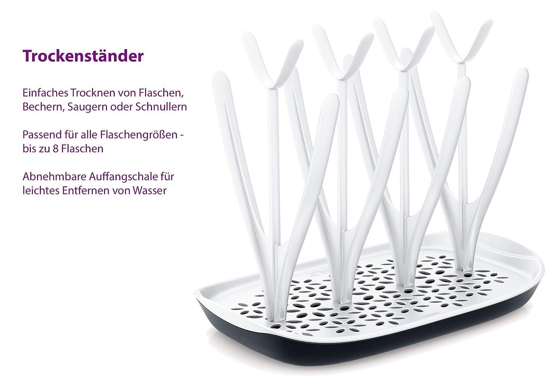 Stillen Brustpumpen inkl Naturnah-Flasche SCF330/20 transparent ...