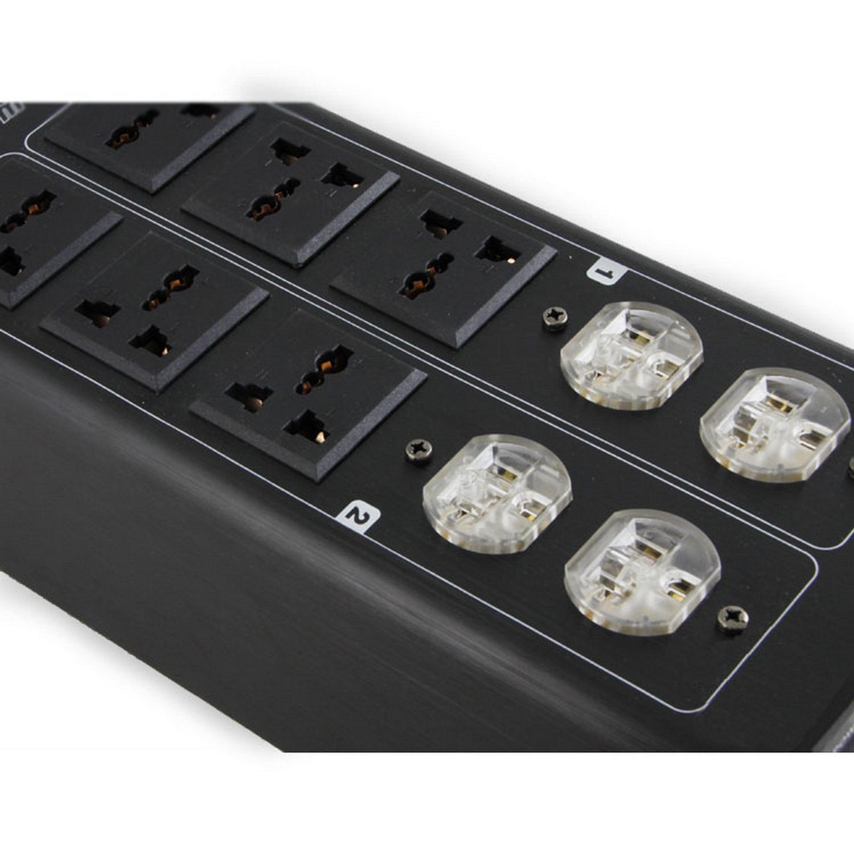 Weiduka AC8.8 3000W 15A Advanced Audio Power Purifier Filter AC Power Socket by Weiduka (Image #5)