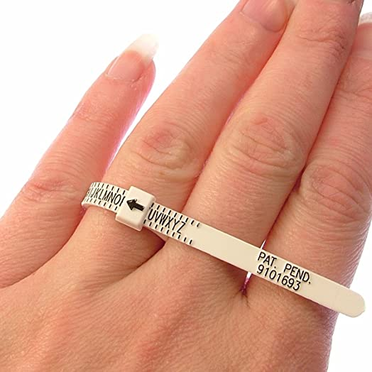UK Ring Sizer Measure For Men And Women Sizes A Z