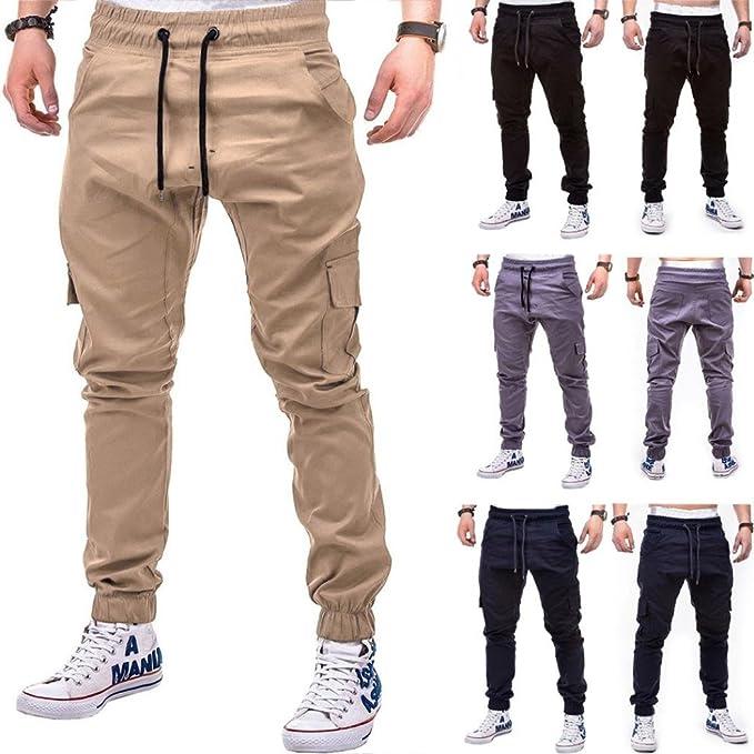 1f0d8f2fa0f9ff Morwind Pantaloni Jogger Uomo - Pantaloni Neri Uomo - Pantaloni Jeans Uomo  - Moda Uomo Sportivo