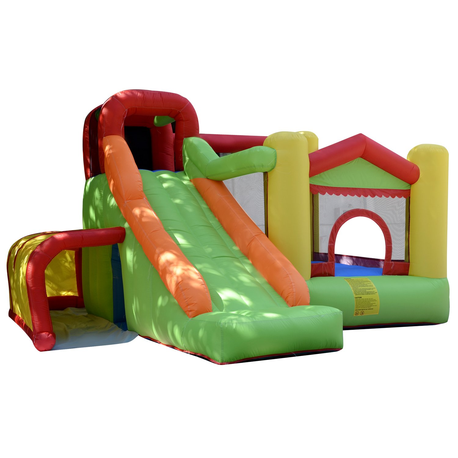 Vansop Outdoor Giant Commercial Kids Toddler Inflatable Bounce House with Slide (US Stock)