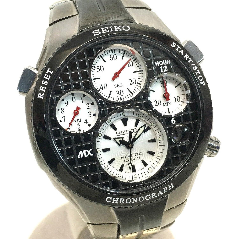 (セイコー) SEIKO 9T82-0A70 MX21世紀限定500本 スポーチュラ クロノグラフ メンズ腕時計 オートクォーツ 腕時計 SS/チタン メンズ 中古 B07BZMRPDD