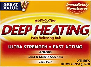 Deep HeatingPain Relieving Rub, Extra Strength, 2-Ounce (57 g) (Pack of 6)