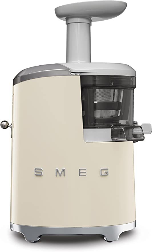 Smeg 146877 Licuadora, 150 W, 0.5 litros, Plástico, Crema: Amazon ...