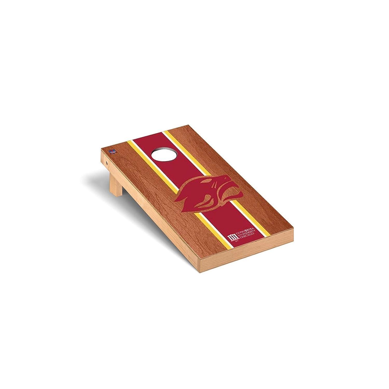 コンコルディアシカゴCougars Cornhole Game Set B0118BDEPC Rosewood Stripe Version