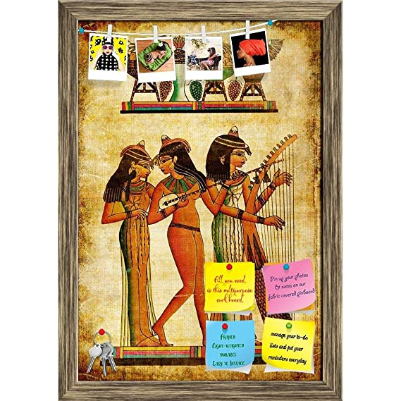 Amazon.com : ArtzFolio Old Egyptian Papyrus Printed Bulletin ...