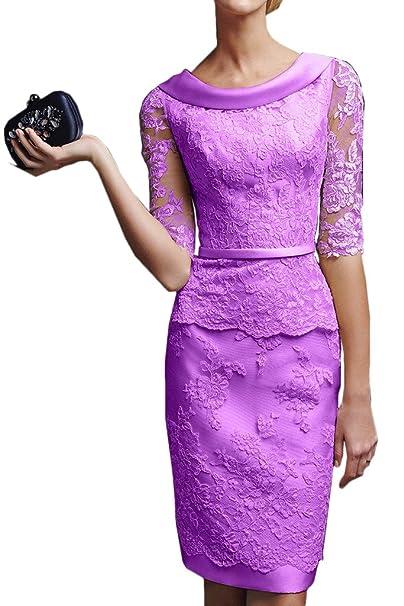 Gorgeous Bride - Vestido - para mujer morado violeta